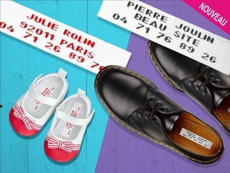 abc-marquage.com - Autocollants  pour marquer les chaussures